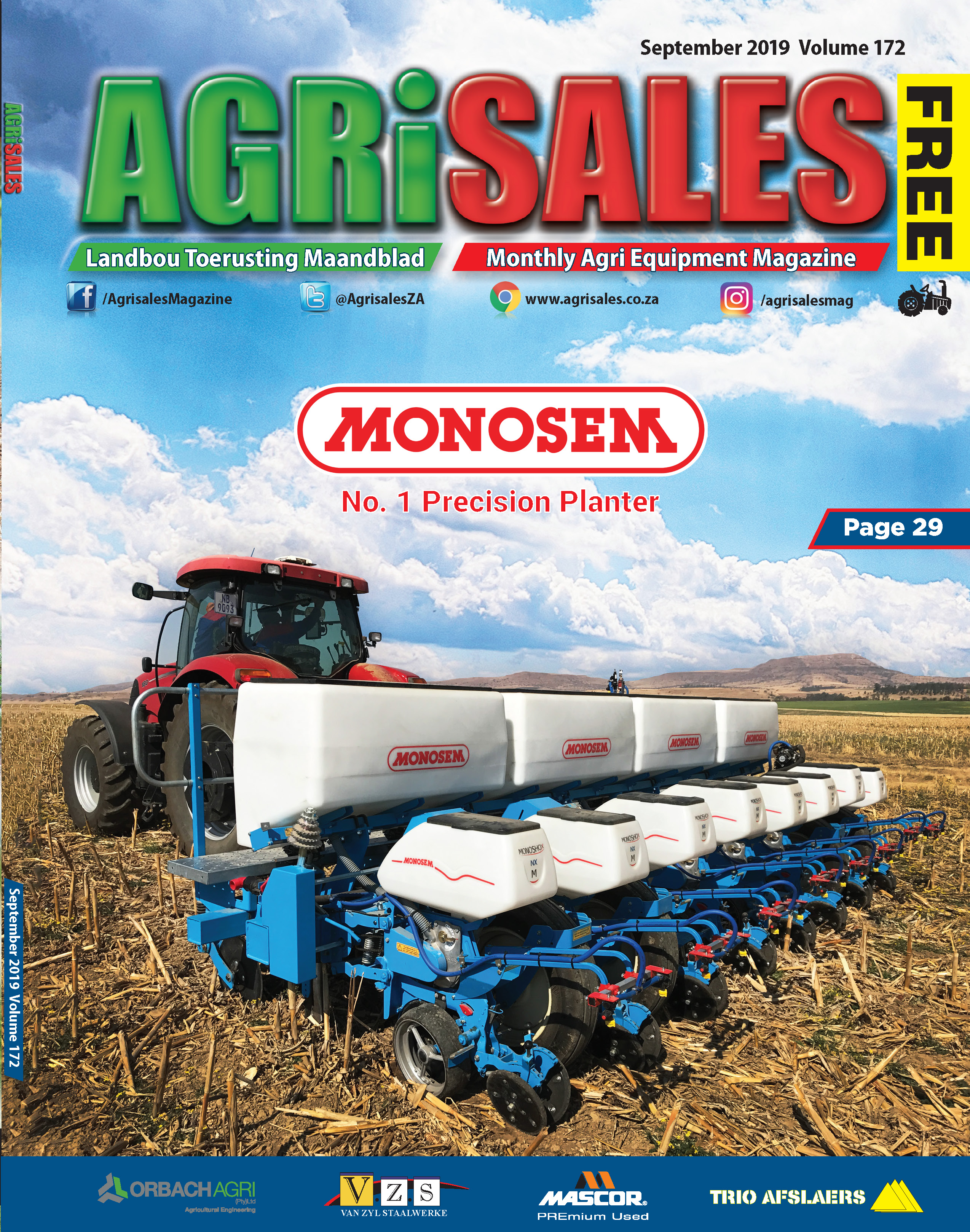 Tractors & Farm Equipment for sale in South Africa